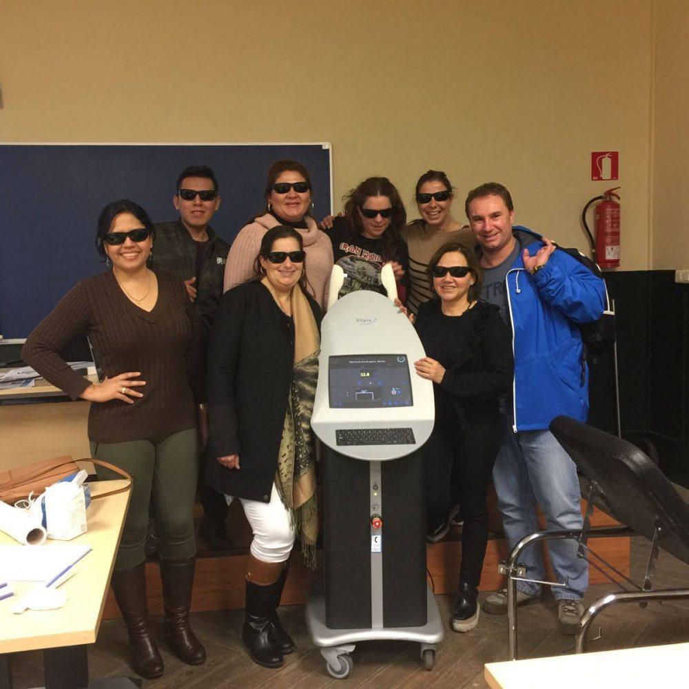 Alumnos en prácticas de la Universidad de las Islas Baleares