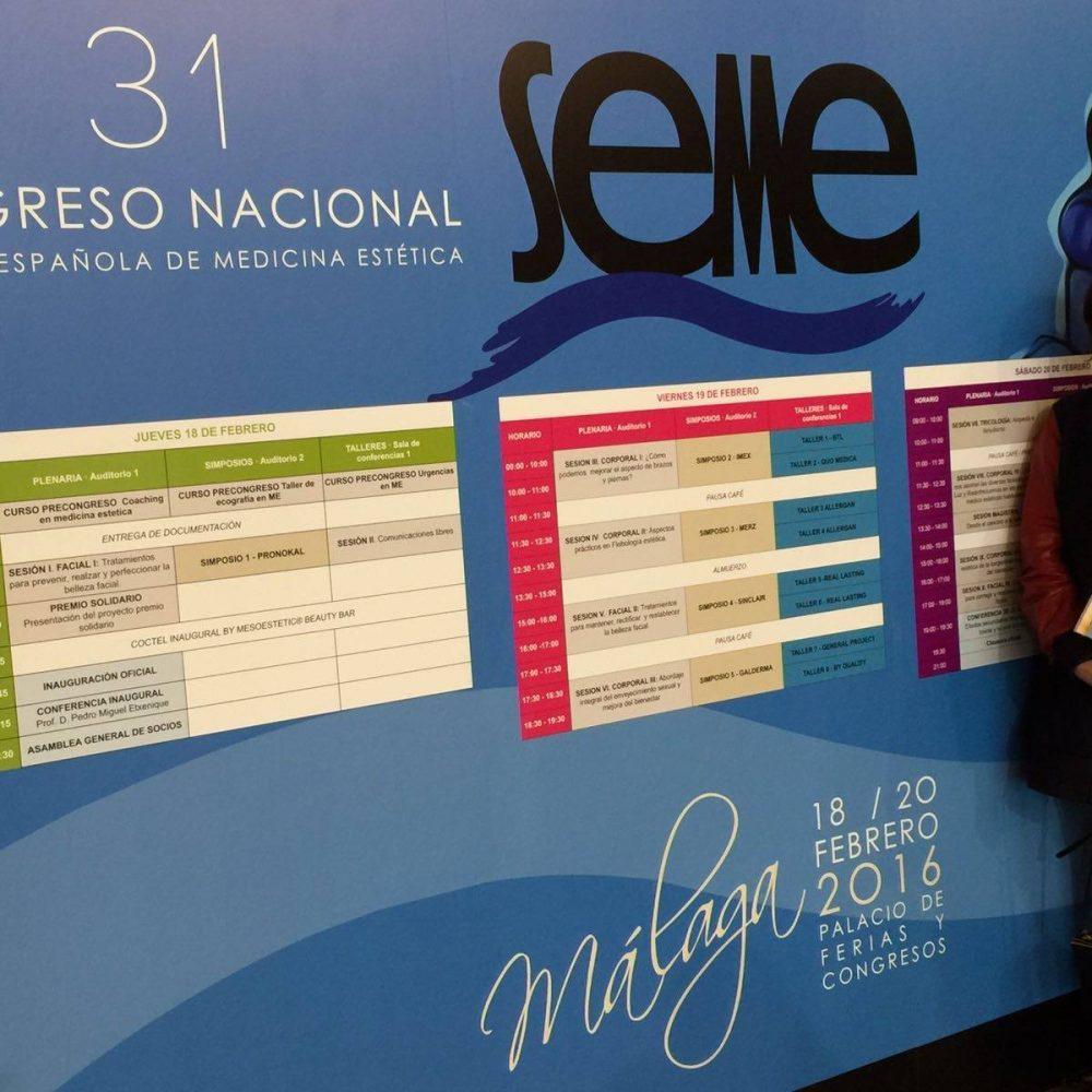 31 Nationalkongress der Spanischen Gesellschaft für ästhetische Medizin