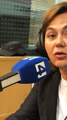 La Dra Caballero, entrevistada en Canal 4 Radio para hablar del lipolaser